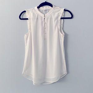 H&M Sheer Sleeveless Blouse 34
